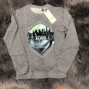 Manguun | Boy's Crewneck Sweatshirt | New York